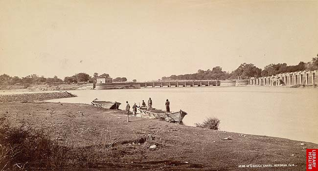 RARE OLD PICTURE OF HARIDWAR